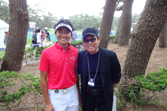 初出場 DIAMOND CUP GOLF 2013