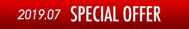 SPECIAL OFFER 2019.07|TOTAL Workout渋谷店・六本木店 入会キャンペーン