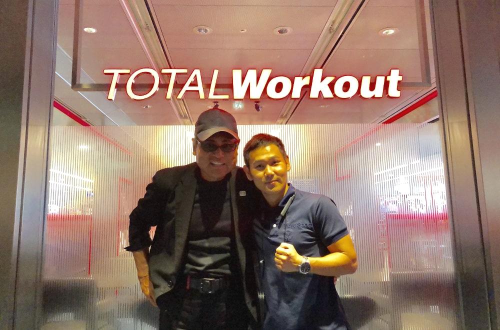 高山勝成選手 x TOTAL Workout