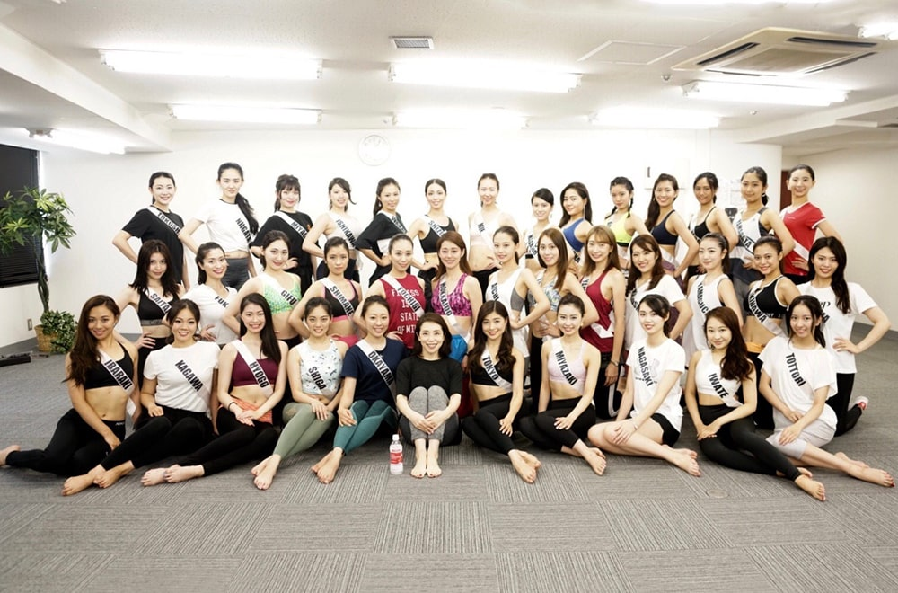新しい美の祭典、2019 MISS JAPAN ファイナリスト達のトレーニング!