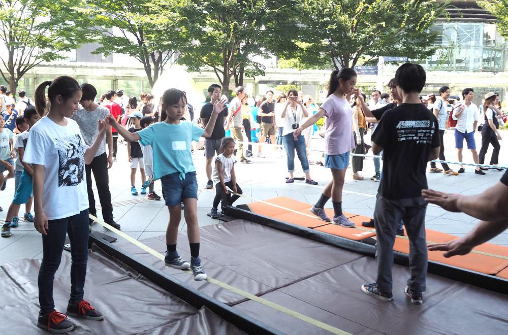 TOTAL Workout 六本木ヒルズ KIDS'WORKSHOP 2019~運動能力向上プログラム~