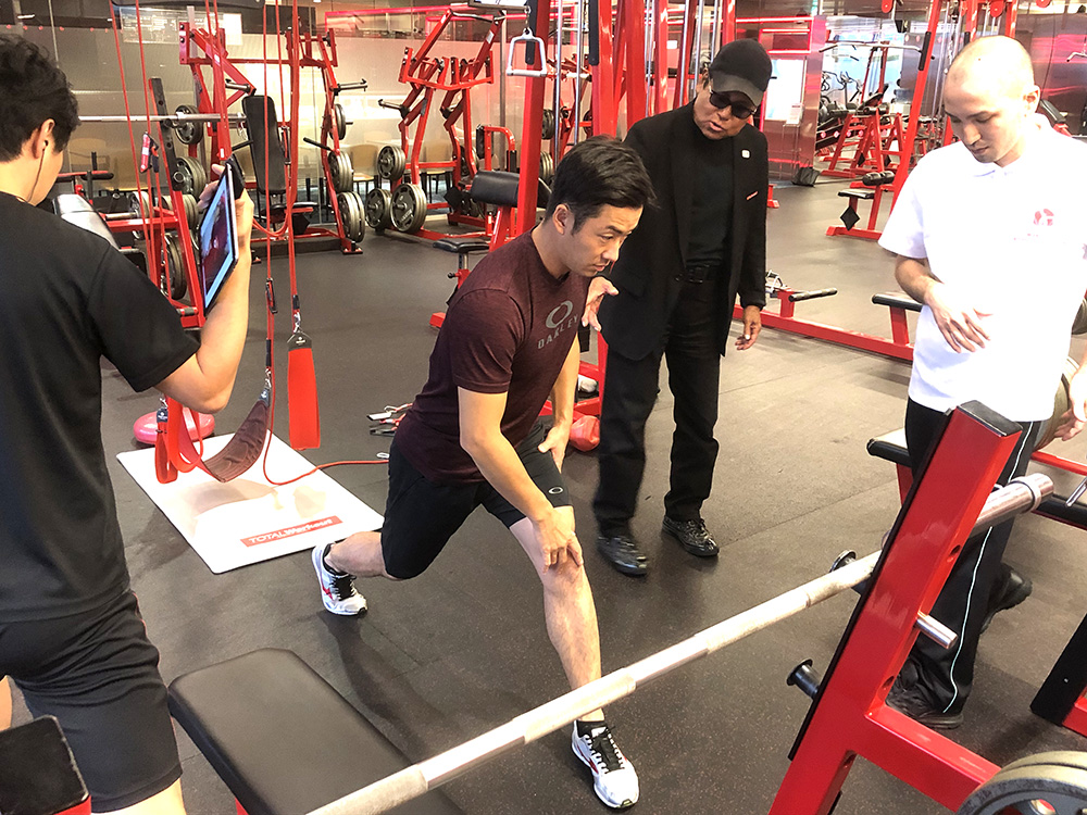 斎藤佑樹選手 シーズン終了!早速、2020年へ向けたトレーニング開始! - TRAINING COMPLEX - TOTAL Workout